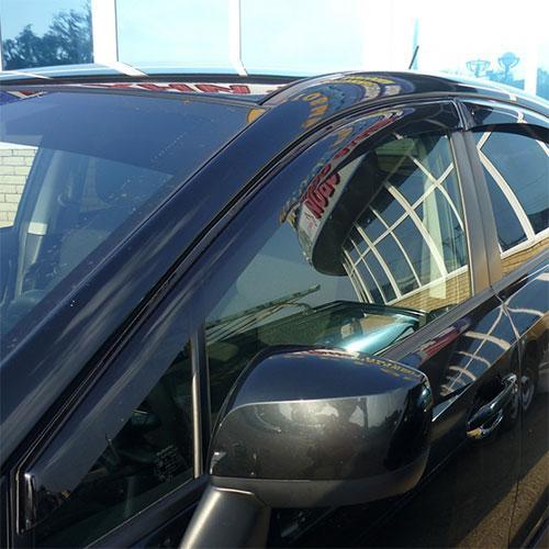 Дефлектори вікон вітровики Субару ХВ 1 Subaru XV I 11-17 COBRA TUNING (Накладні)