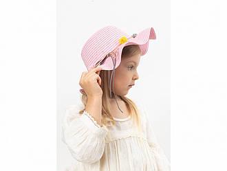 Детская шляпа Хигс оптом розовая