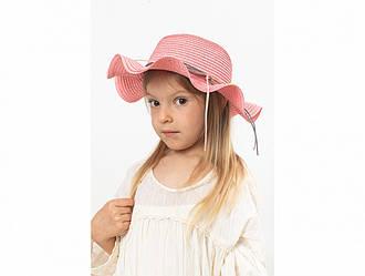Детская шляпа Хигс оптом темно-розовая