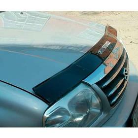 Дефлектор капота мухобойка Suzuki Grand Vitara I 98-05 VIP TUNING (В штатні місця під капотом)