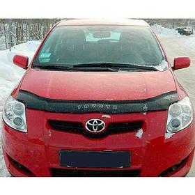 Дефлектор капота мухобойка Тойота Ауріс 1 Toyota Auris I 07-12 VIP TUNING