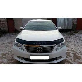 Дефлектор капота мухобойка Тойота Камрі (ХВ50) Toyota Camry (XV50) 11 - VIP TUNING