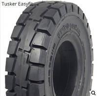 6.50-10 Суцільнолита шина для навантажувача /EASYFIT/ STARCO TUSKER
