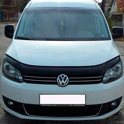 Дефлектор капота мухобойка Фольксваген Кадди 3 Volkswagen Caddy III 04-15 VIP TUNING