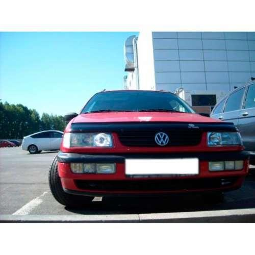 Дефлектор капота мухобойка Фольксваген Пассат Б4 Volkswagen Passat B4 93-96 VIP TUNING