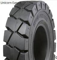 6.50-10 Суцільнолита шина для навантажувача /EASYFIT/ STARCO UNICORN