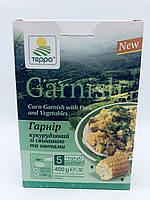 Суп-гарнір кукурудзяний зі свининою, цибулею і зеленню, 400 гр, Терра