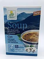 Суп-гарнір рисовий пісний з овочами, 400 гр, Терра