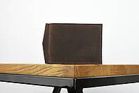"""Кожаный зажим для денег коричневого цвета """"lisbon"""", фото 2"""