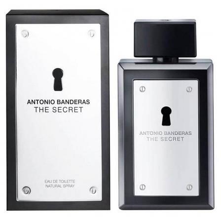 Antonio Banderas The Secret Туалетная вода 100 ml EDT (Антонио Бандерас Секрет Сикрет) Мужской Парфюм Аромат, фото 2