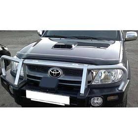 Дефлектор капота мухобойка Тойота Хайлюкс 7 Toyota Hilux VII 04-15 SIM