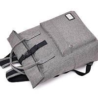 Школьный ранец-сумка с USB зарядкой (55530001)