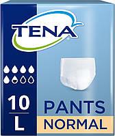 Tena подгузники-трусики для взрослых Pants Normal Large 10 шт