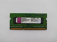 Оперативная память для ноутбука SODIMM Kingston DDR3 1Gb 1333MHz PC3-10600S (ACR128X64D3S1333C9) Б/У, фото 1