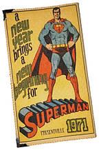 Большая визитница картхолдер Superman