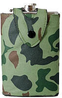 Фляга в камуфляжном чехле 240 мл. (104364)