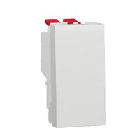 Переключатель 1-кл. перекрестный сх.7 10А 1 модуль белый New Unica