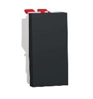 Переключатель 1-кл. перекрестный сх.7 10А 1 модуль антрацит New Unica