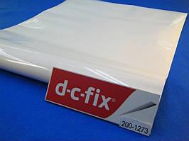 Самоклейка Белая 90см х 1м D-C-Fix (Самоклеющаяся пленка)
