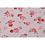Элитные шторы  Прованс Red rose, 250х140 см, фото 2