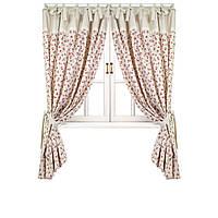 Элитные шторы  Прованс Red rose, 170х140 см