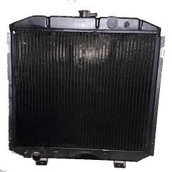 Радиатор для Газ 66 мед 4 ряд пр-во Иран Радиатор