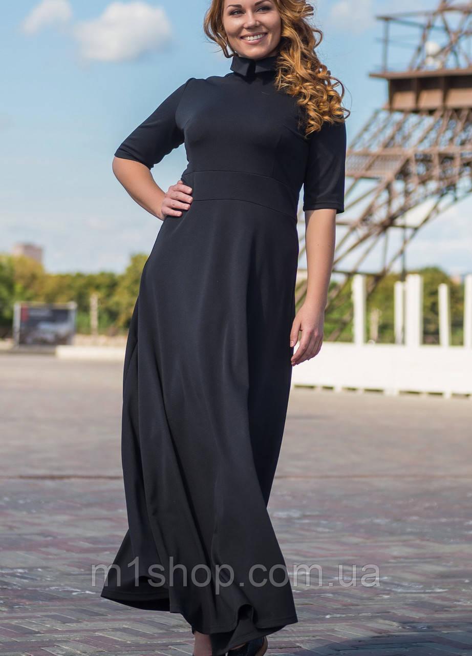 Платье в пол для полных   2117 sk