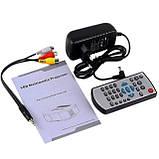 Портативный мультимедийный LED проектор Full HD PRO-UC30 W8, фото 4