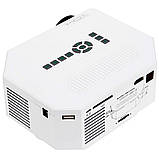 Портативный мультимедийный LED проектор Full HD PRO-UC30 W8, фото 5