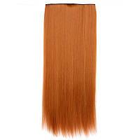 Искусственные волосы на заколках. Цвет #30j Медный, фото 1