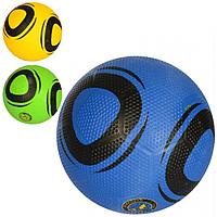 МЯЧ ФУТБОЛЬНЫЙ VA-0079 размер 5, резина Golf, 380-400 г, 3 цвета, в кульке.