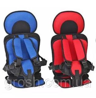 Портативное бескаркасное детское автокресло, Удобное дышащее регулируемое с 1 до 5 лет