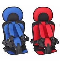 Портативное бескаркасное детское автокресло, Удобное дышащее регулируемое с 1 до 12 лет