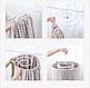 Многофункциональная спиральная вешалка сушилка Chrishuang, фото 4
