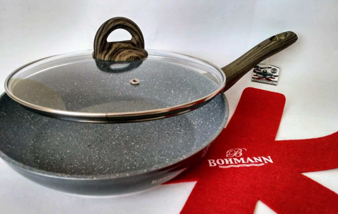 Сковорода из литого алюминия Bohmann BH 1006-24 MRB