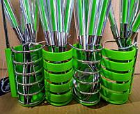 Набор столовых приборов Peterhof PH-22108 A green, фото 4