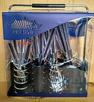 Набор столовых приборов Peterhof PH-22108 A black, фото 6