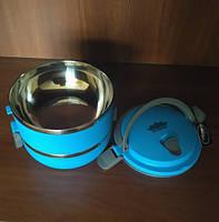 Ланч-бокс Peterhof PH-12415-14 blue 1,4 л., фото 5