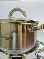 Набор кастрюль Bohmann BH  70526  6 пр., фото 5