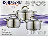 Набор кастрюль Bohmann BH  70526  6 пр., фото 7