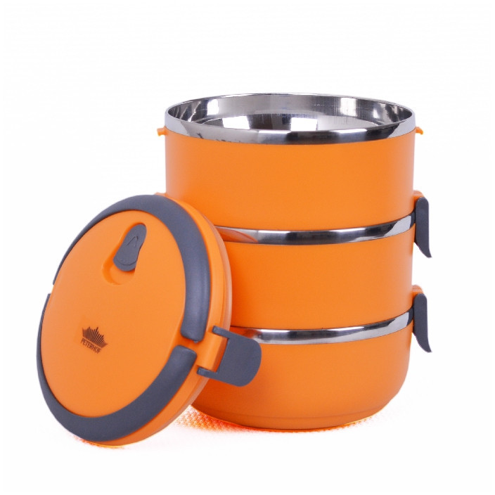 Ланч-бокс PH-12415-21 orange 2,1 л.