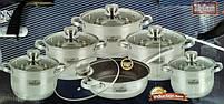 Набор посуды Bohmann BH 1275 MRB 12 предметов, фото 3