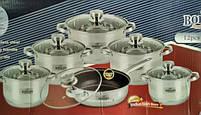 Набор посуды Bohmann BH 1275 MRB 12 предметов, фото 4