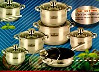 Набор посуды Bohmann BH 1275 MRB 12 предметов, фото 5