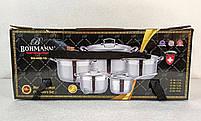 Набор кастрюль Bohmann BH 600-10 10 предметов, фото 8