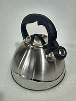 Чайник со свистком Bohmann BH 9906 3 л., фото 4