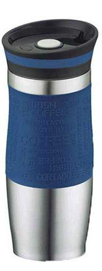 Термокружка Peterhof PH-12414 blue  0,4 л.