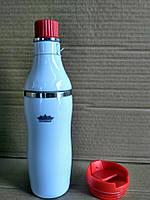 Термокружка Peterhof PH-12422 red  2 в 1 0,38 л., фото 2