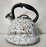 Чайник со свистком Bohmann BH 9904 gray 3 л., фото 2
