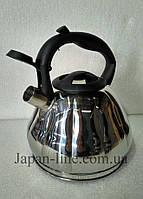 Чайник со свистком Bohmann BH 9915 3 л., фото 4